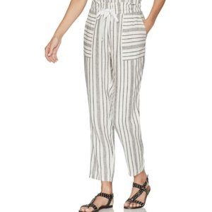 Vince Camuto Striped Drawstring Jogger Pants